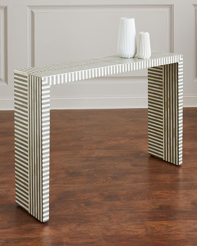 ed0bb3190d05d Interlude Home Farrah Bone Inlay Console Table