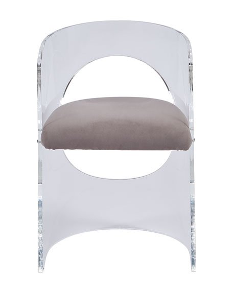 Vanessa Acrylic Circle Chair