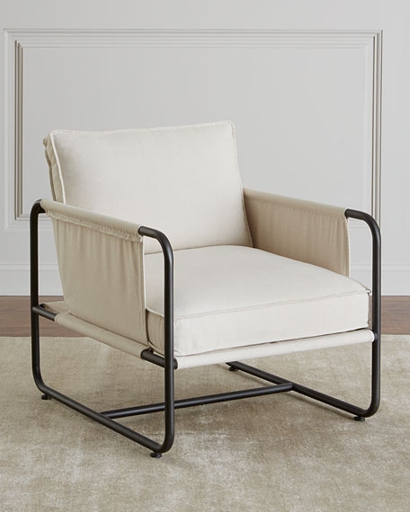 Piper Iron Frame Chair