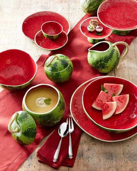 "Watermelon Salad Bowl, 14""Dia."