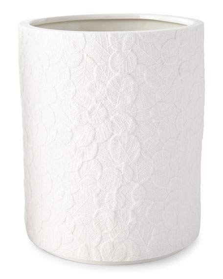 Botanical Leaf Wastebasket