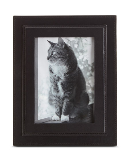 "Brennan Picture Frame, Black, 5"" x 7"""