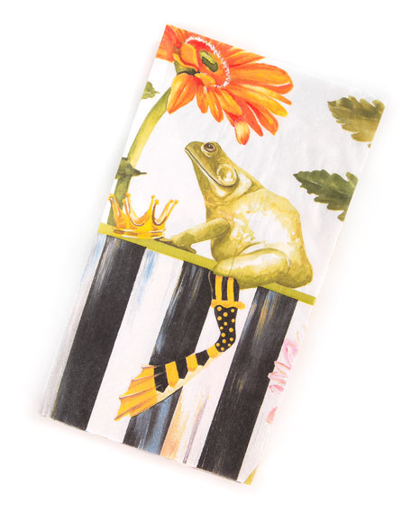 MacKenzie-Childs Frog Paper Guest Napkins