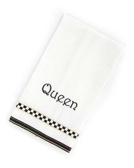 MacKenzie-Childs Queen Guest Towel and Matching Items