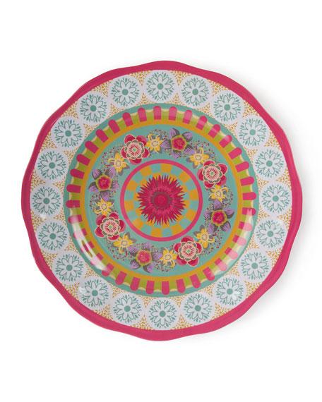 MacKenzie-Childs Florabundance Melamine Serving Platter