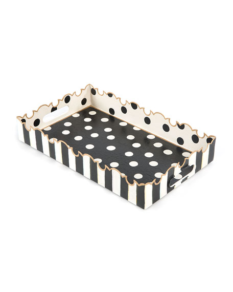 MacKenzie-Childs Small Dot Tray