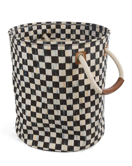 Courtly Check Medium Storage Tote