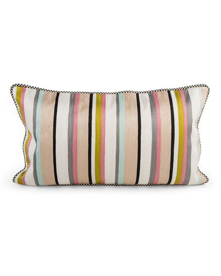 Patisserie Stripe Pillow