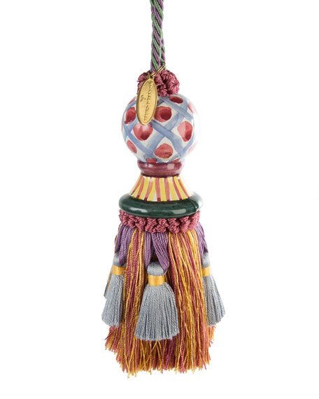 Ceramic-Head Tassel