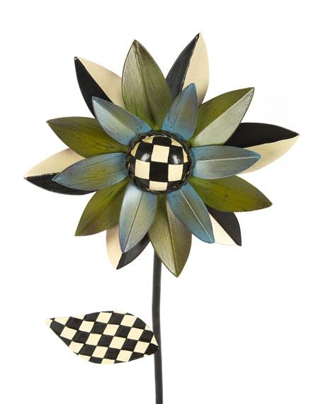 Flower Stake, Blue