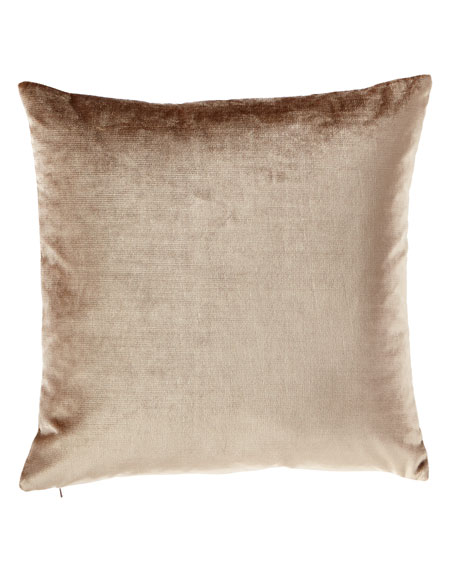 Eastern Accents Velda Otter Knife Edge Pillow and