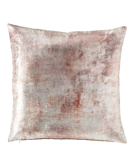 Eastern Accents Despina Mauve Knife Edge Pillow