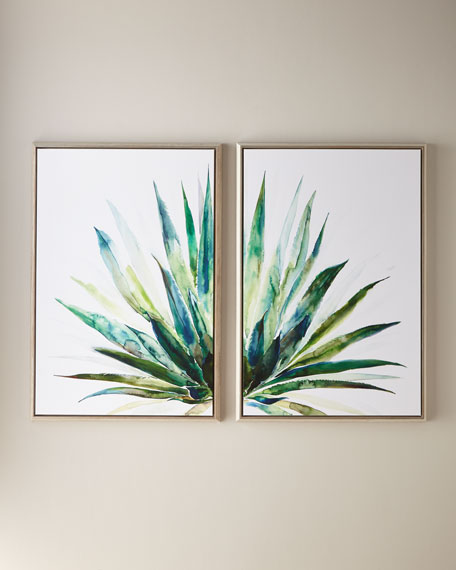 Verde Agave Wall Art, 30