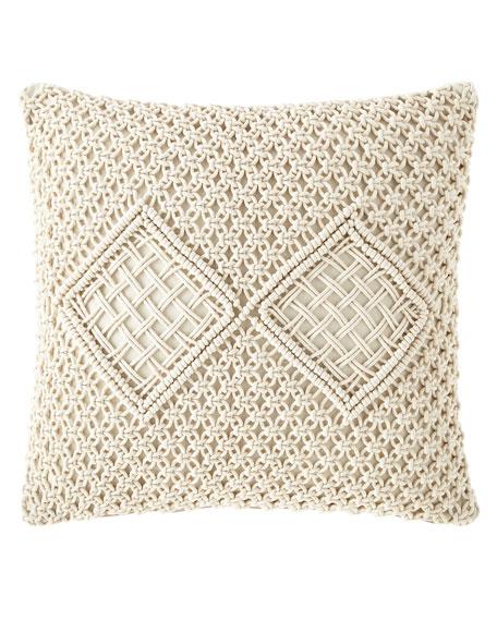 Handmade Woven Pillow