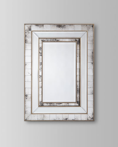 Izmir Antiqued Wall Mirror