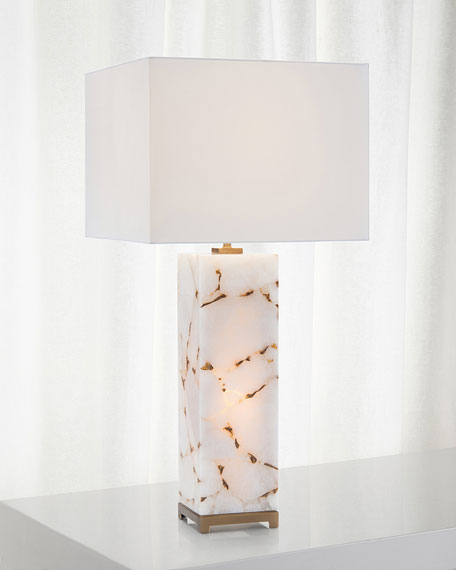John-Richard Collection Calcite Table Lamp