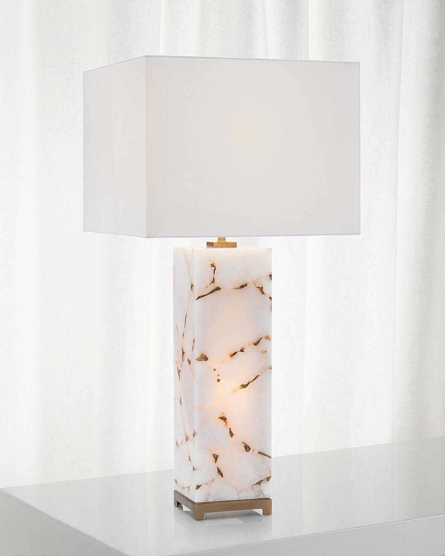 John Richard Collection Calcite Table Lamp Neiman Marcus
