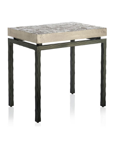 Forest Leaf Side Table