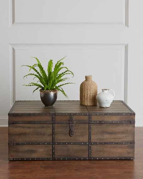 Casella Trunk Style Coffee Table