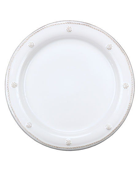 Berry & Thread Whitewash Charger Plate & add freezer safe