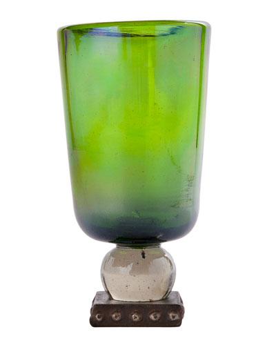 Ramo Oversize Goblet, Green