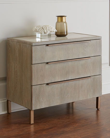 Ari Three-Drawer Night Stand