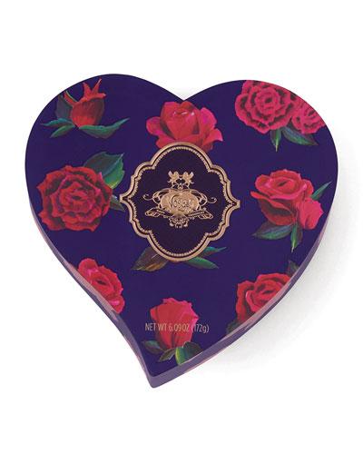 Dark 16-Piece Rose Heart