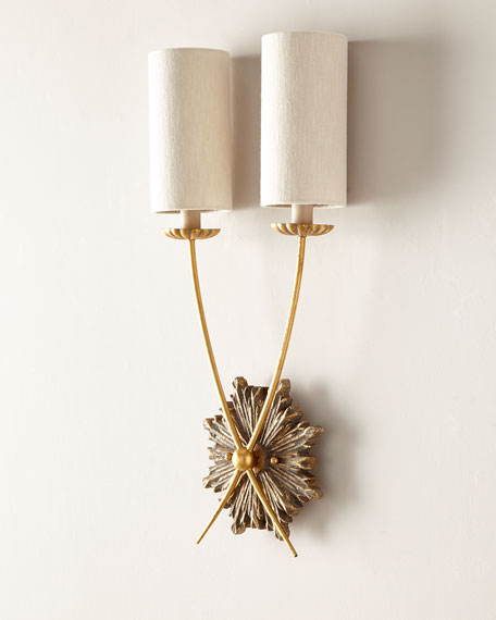 Regina Andrew Design Louis Sconce