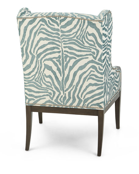 Anassa Zebra Wing Chair