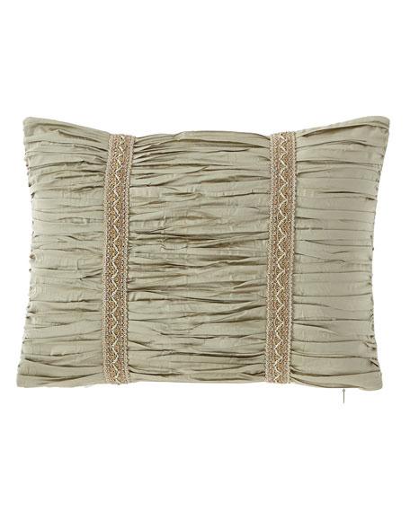 Austin Horn Classics Laurel Boudoir Pillow, 12
