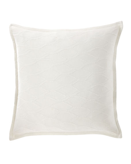 "Isabella Collection by Kathy Fielder Lisette Pillow, 22""Sq."