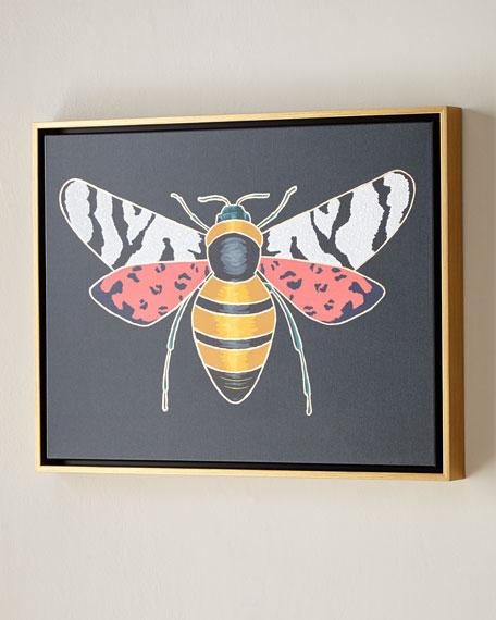 "Luxe Bee I Wall Art, 24"" x 18"""