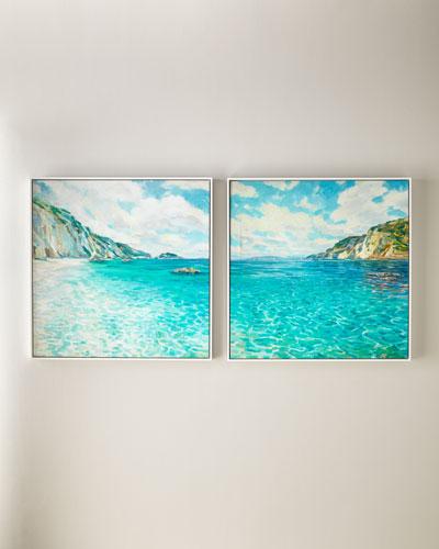 Crystal Cove Wall Art, Set of 2
