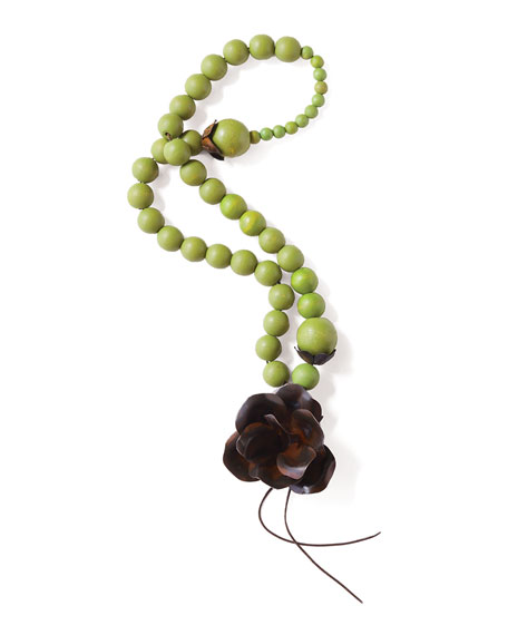 Jan Barboglio Guadalupe Blessing Beads, Green