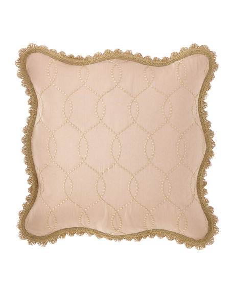 Sweet Dreams Chamonterie Embroidered European Sham