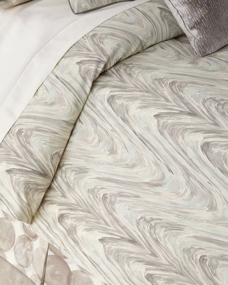 Jane Wilner Designs Tides Queen Duvet