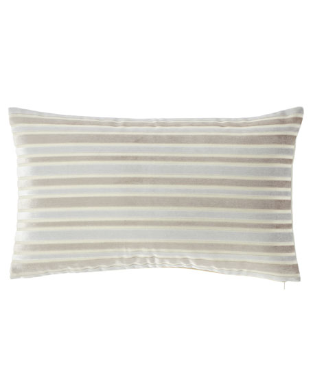 Jane Wilner Designs Le Monte Stripe Rectangular Pillow