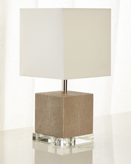 Sacha Shagreen Mini Lamp