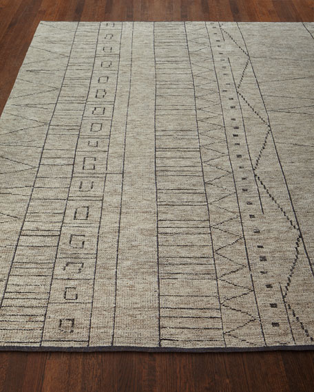 """Linden Hand-Knotted Rug, 5'6"""" x 8'6"""""""