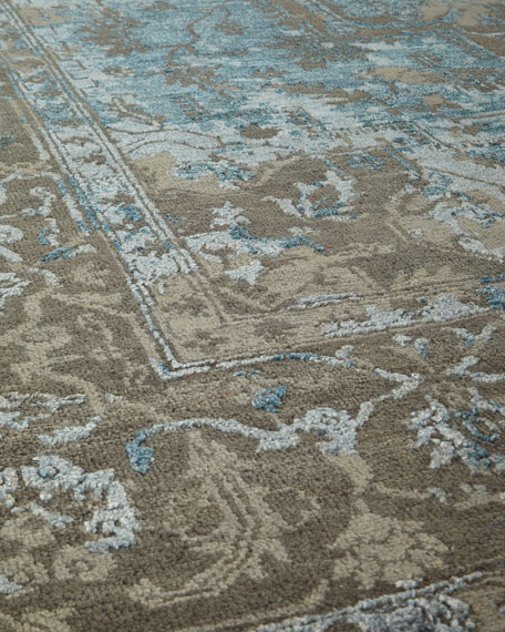 Oath Veil Hand-Knotted Runner, 2'6 x 8'