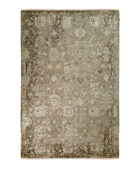 Hester Hand-Knotted Runner, 2.6' x 8'