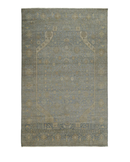 Cassiel Hand-Knotted Rug, 6' x 9'