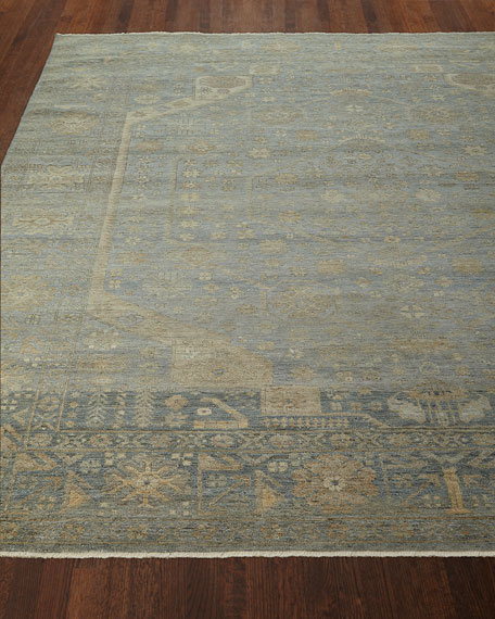 Cassiel Hand-Knotted Rug, 9' x 12'