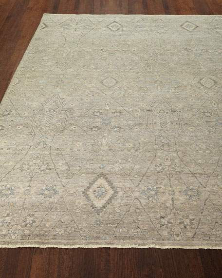 Zuriel Hand-Knotted Rug, 8' x 10'