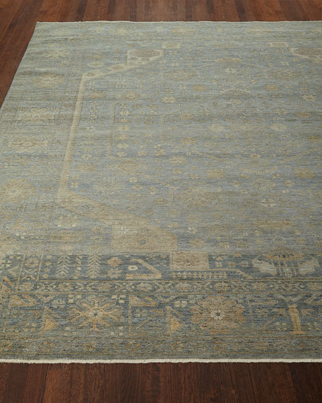 Cassiel Hand-Knotted Rug, 4' x 6'