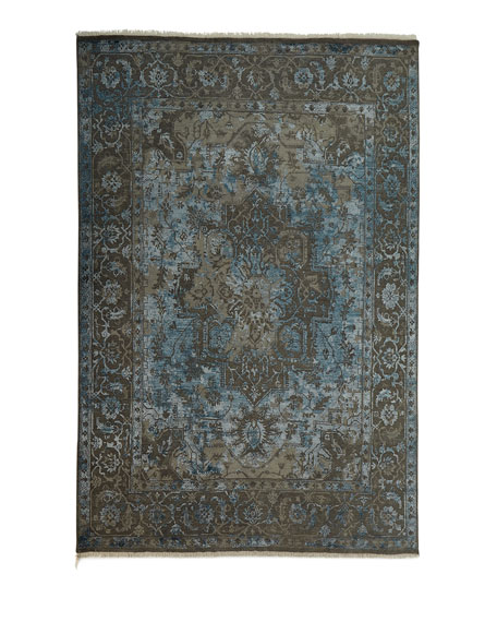 Oath Veil Hand-Knotted Rug, 4' x 6'