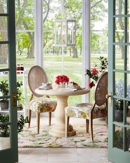 Sparkling Peonies Faux Floral Arrangement