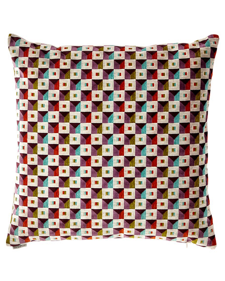 D.V. Kap Home Collage-Print Decorative Pillow and Matching