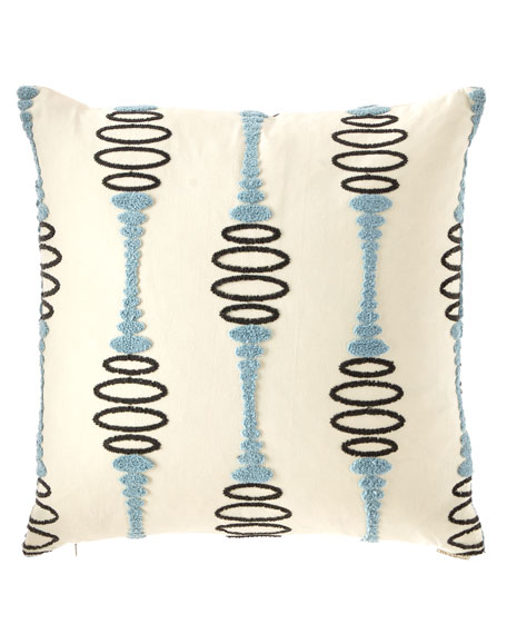 D.V. Kap Home Pogo Embroidered Decorative Pillow