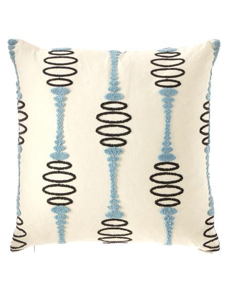 D.V. Kap Home Pogo Embroidered Decorative Pillow